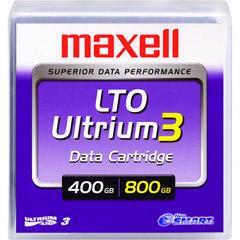 Maxell 183900 - 1PK LTO3 ULTRIUM 400/800GB TAPE CARTRIDGE