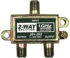Steren 201-202 - 1GHz 90dB Splitter - 2-Way