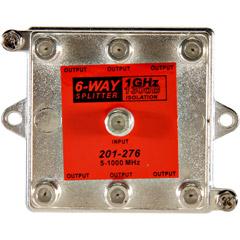 Steren 201-276 - 1GHz 130dB 6-Way Vertical Splitter