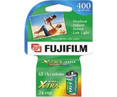Fujifilm CH135-24 - Superia X-TRA ISO 400 35mm Color Film - 24 Exposures