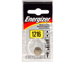 Energizer ECR-1216BP - 3V Lithium Button Cell Battery Retail Pack - Single