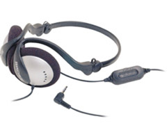 Koss KSC-17 - Behind-The-Neck Folding Headphones with In-Line Volume Control