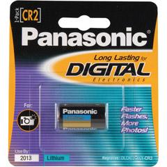Panasonic CR-2PA/1B - CR2 Photo Lithium Battery Retail Pack - Single
