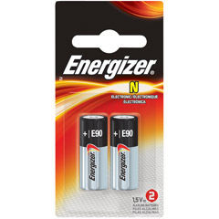Energizer E90BP-2 - N Alkaline Battery Retail Pack - 2-Pack