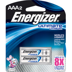 Energizer L92BP-2 - AAA e2® Lithium Battery Retail Pack - 2-Pack