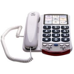 Clarity P-300 - Amplified Corded Photo Telephone