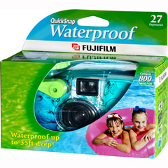 Fujifilm QUICKSNAP-WATER - One-Time-Use Underwater 35mm Camera